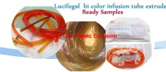 Lucifugal /bi-color infusion tube extruder