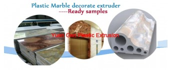 Plastic Marble decorate extruder.