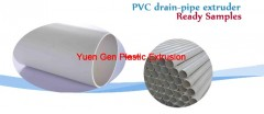 PVC drain-pipe extruder