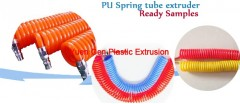 PU Spring tube extruder