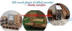 XPS wood plastic Profiled extruder